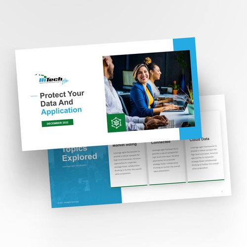 Simple and Sleek PowerPoint Design
