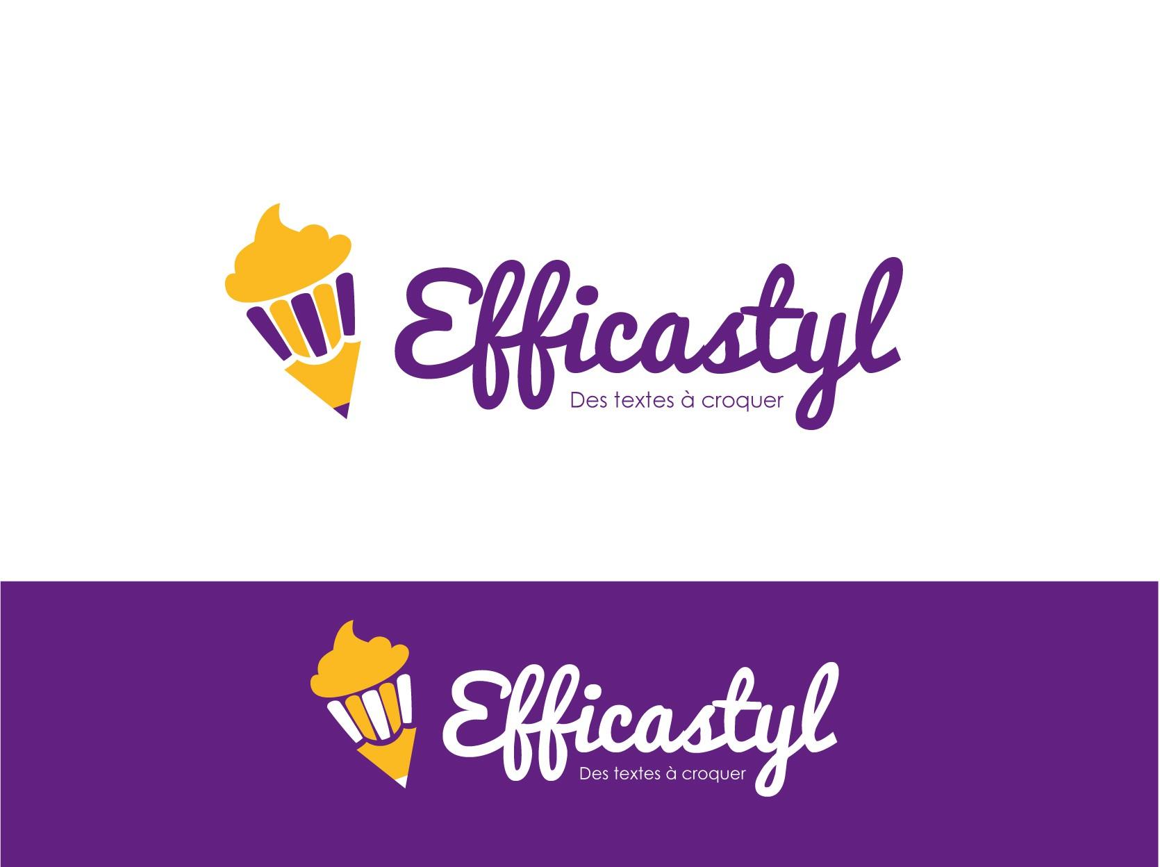 Création d'un logo pour une entreprise de rédaction gourmande !