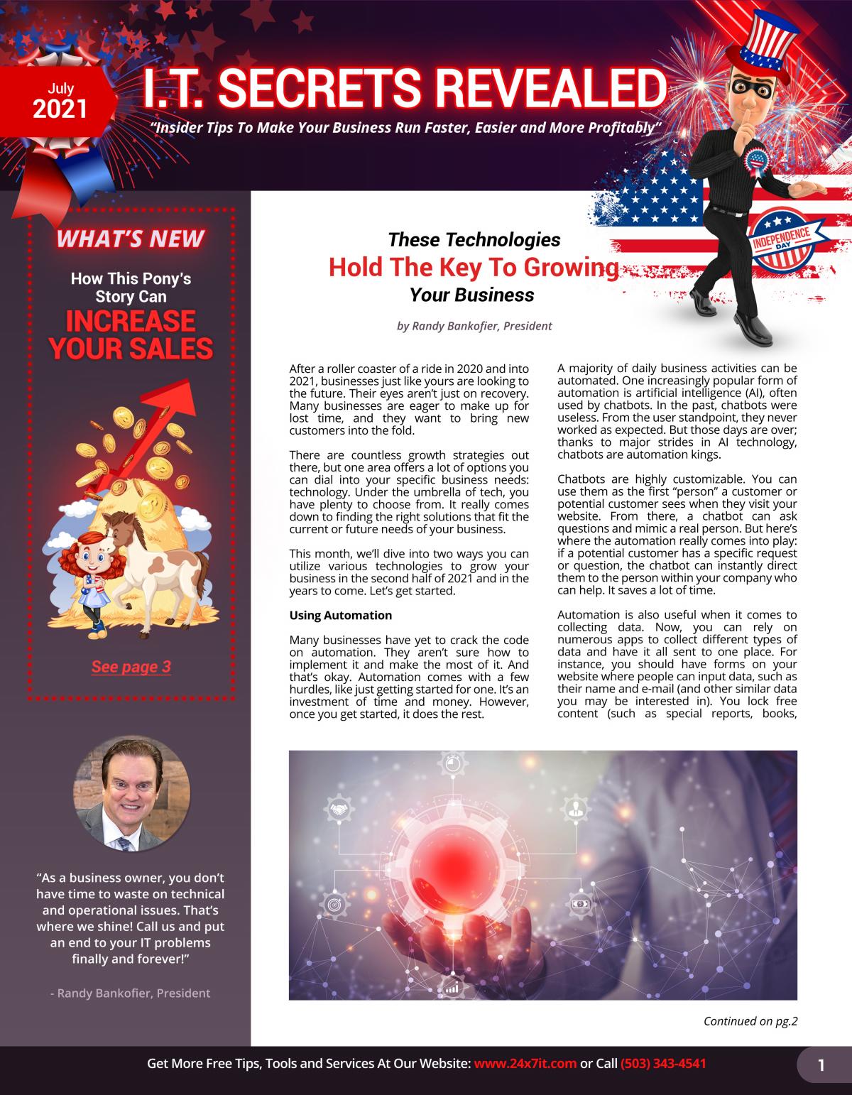 24x7it July Newsletter