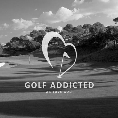 Logo for golf club