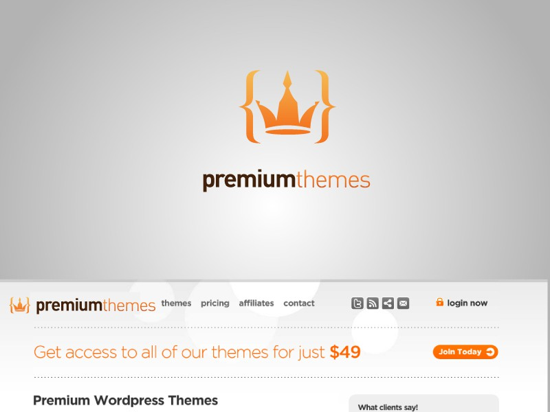 New logo wanted for Premium Themes