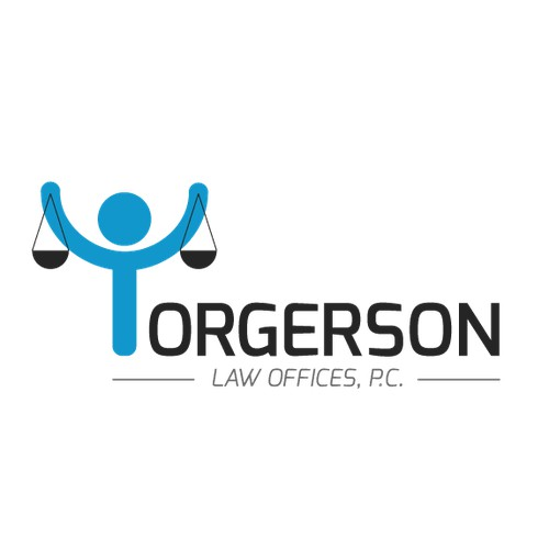 Create the next logo and business card for Torgerson Law Offices, P.C.