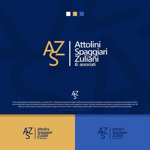 Attolini Spaggiari Zuliani & Associati original logo concept