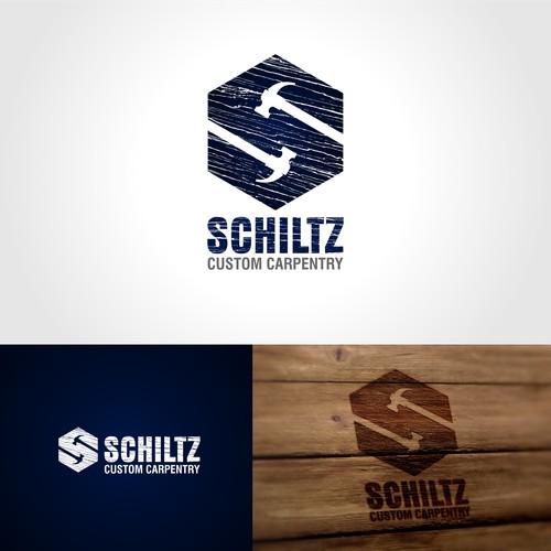 logo design for client schiltzcustomcarpentry