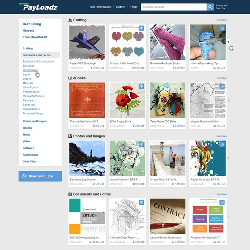 Store Homepage Redesign