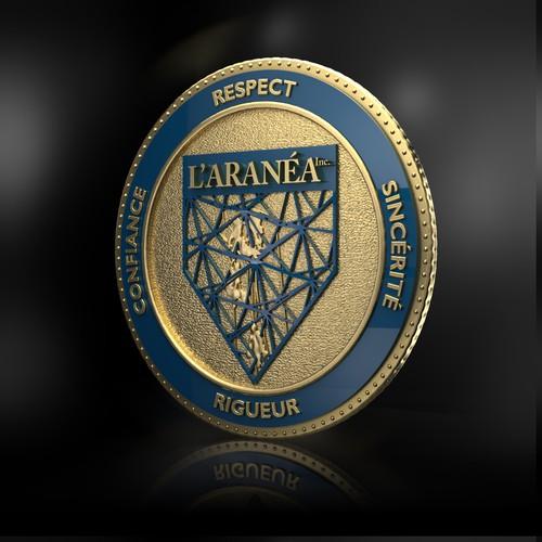 L'ARANEA Coins