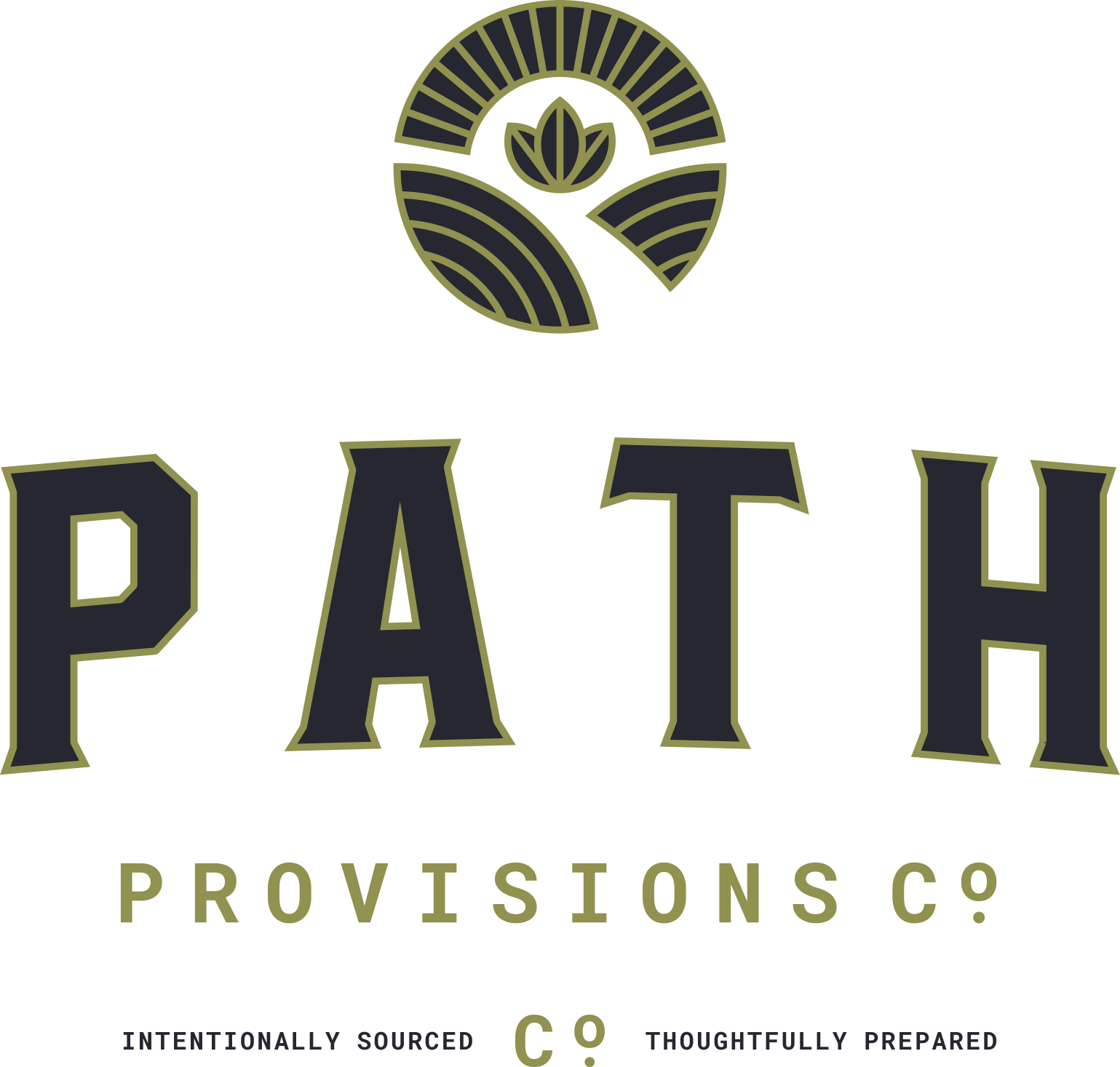 Create a logo that evokes wellness and sustainability for Path (a new restaurant)