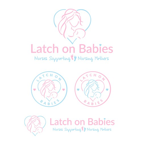 Latch On Babies Logo