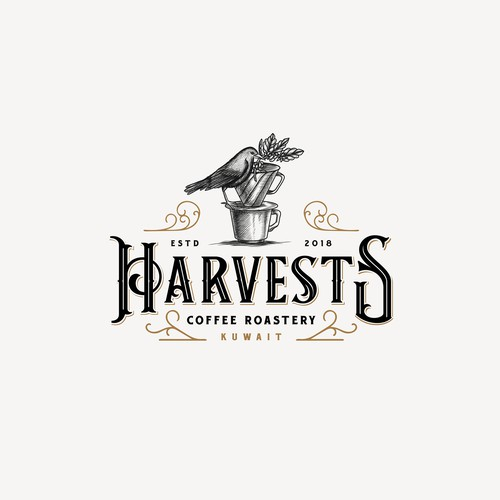 Logo for Harvests Coffee Roaster