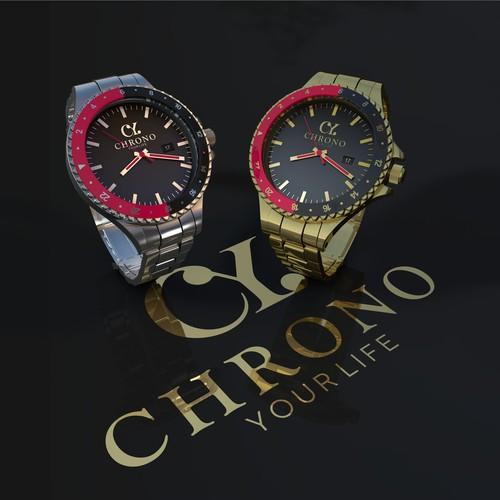 Luxury watch trader needs a luxury design