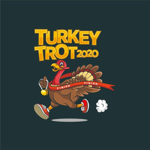 Logo Concept For Turkey Trot 2020
