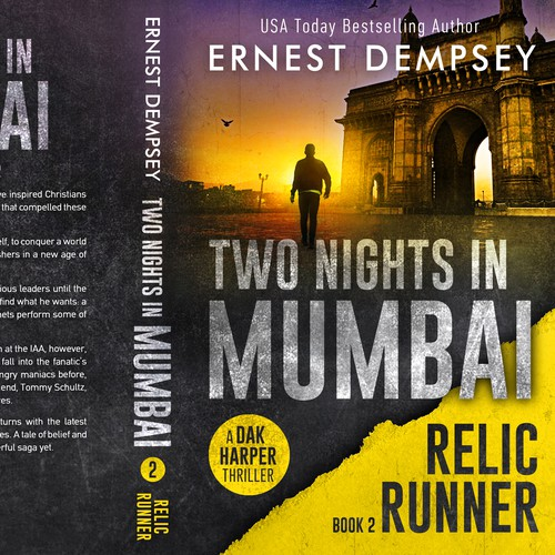 Two Nights in Mumbai - The Relic Runner, book 2