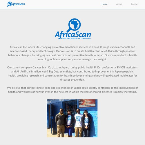 AfricaScan about page