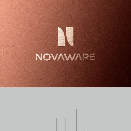 Logo design and identity concept for Novaware, A kitchenware brand.