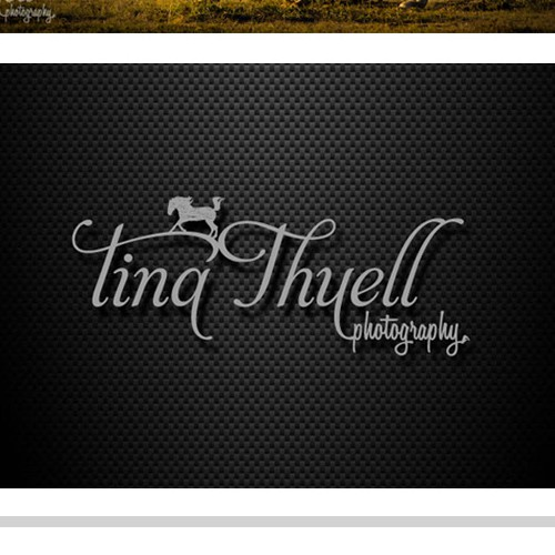 logo for Tina Thuell Photography