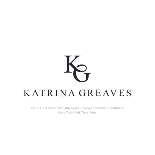 Minimal classic logo for katrina greaves