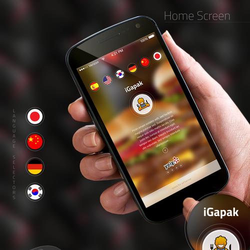 Mobile Web Application Design fo a 4-Star Restaurant