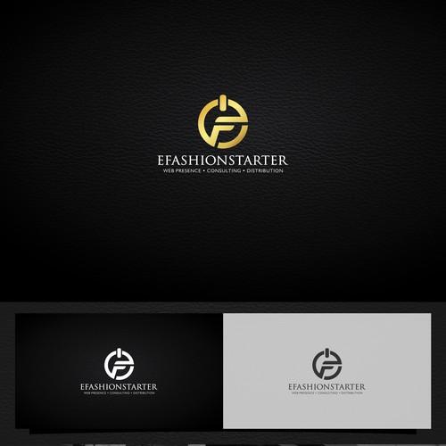 an alluring logo for a luxury digital marketing agency