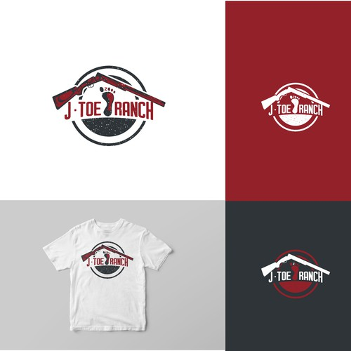 Funny Logo for J-Toe Ranch