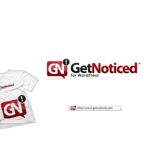 Help GetNoticed! for WordPress with a new logo