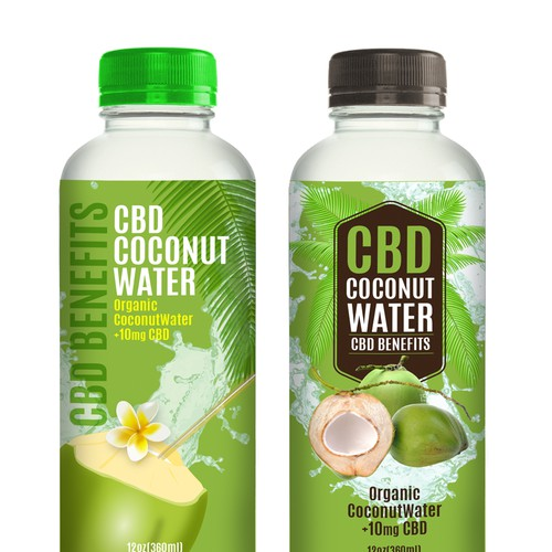 Lable design  for Coconut water