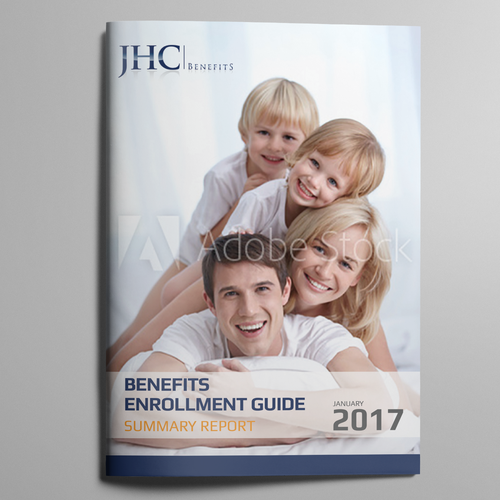 Attractive cover for Benefit guide