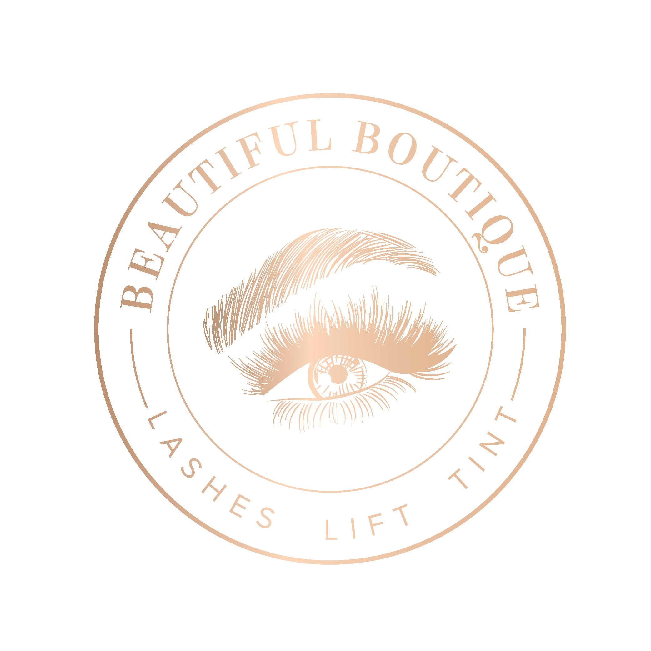 Design a luxurious logo for Beautiful Boutique.