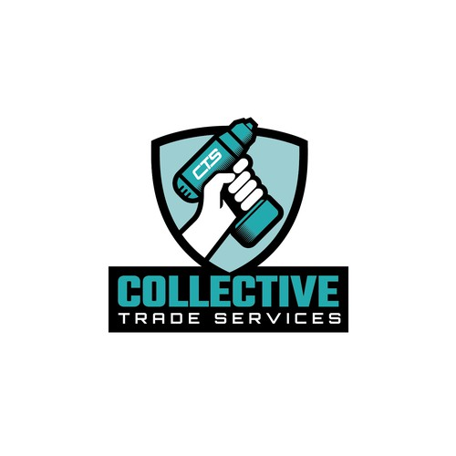 Bold logo for a construction trades organisation