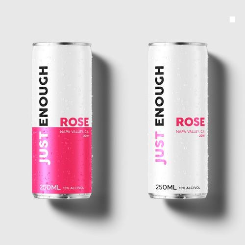 Jus Enough wine Rose
