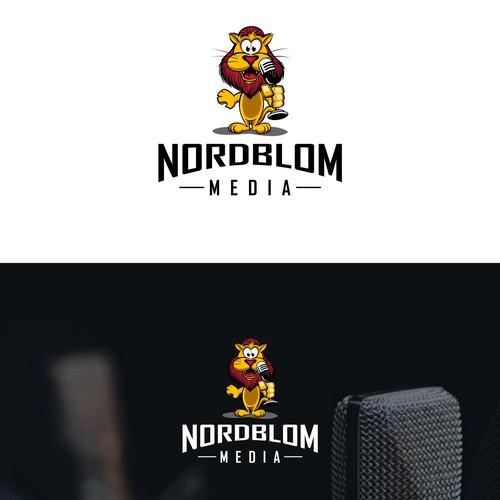 logo concept for media