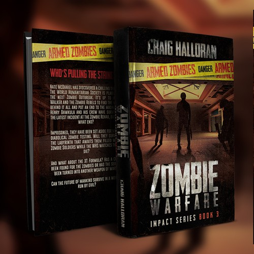 Zombie Warefare Book 3 Book Cover