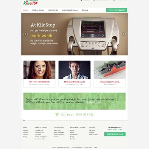 Kilostop homepage