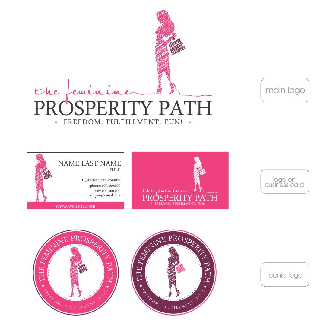Feminine Prosperity Path needs a new logo