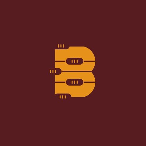 Bold logo for recording artist company