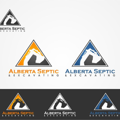 Help Alberta Septic & Excavating with a new logo