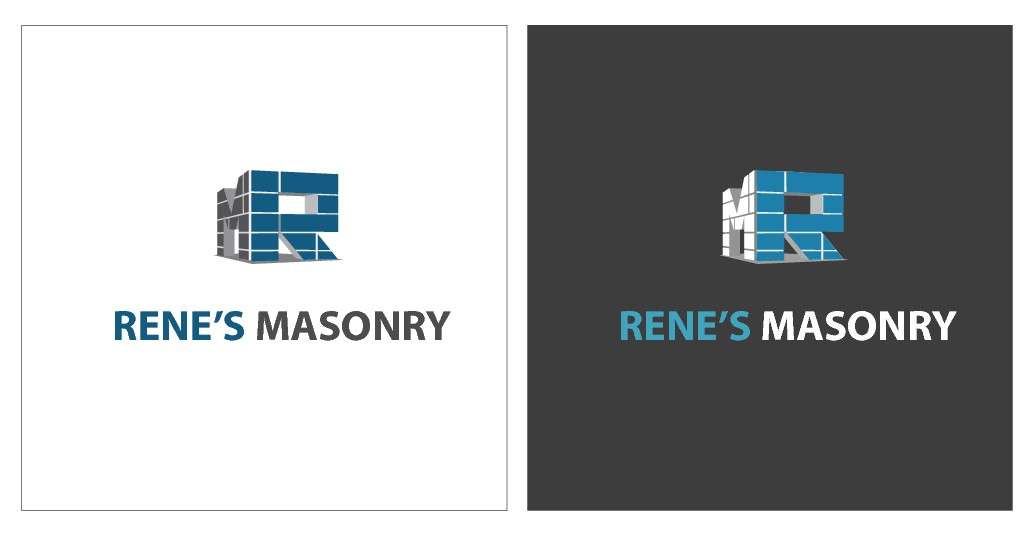 Rene's Masonry Logo Design