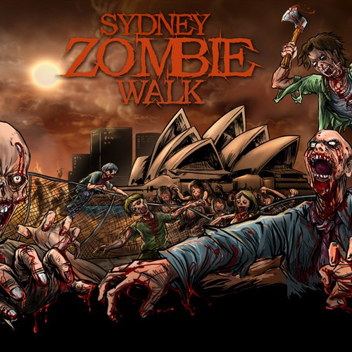 New illustration or graphics wanted for Sydney Zombie Walk