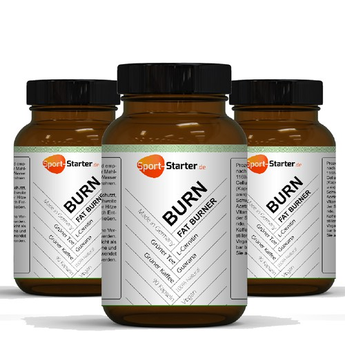 We need an awesome label for a new fat burner supplement