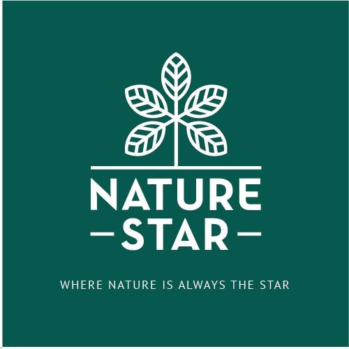 Logo identity for natural food company