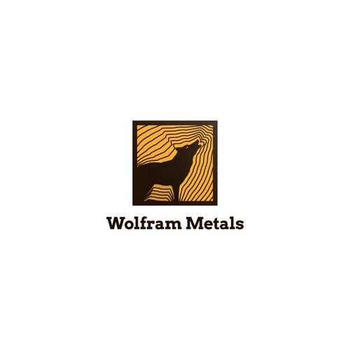 Logo for a mining company