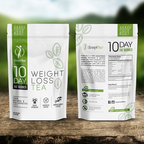 Create An Iconic Package To Shape The Wellness Tea Industry