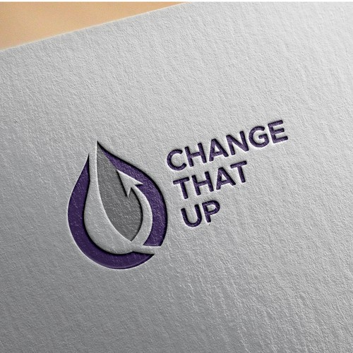 simple organic logo for CTU