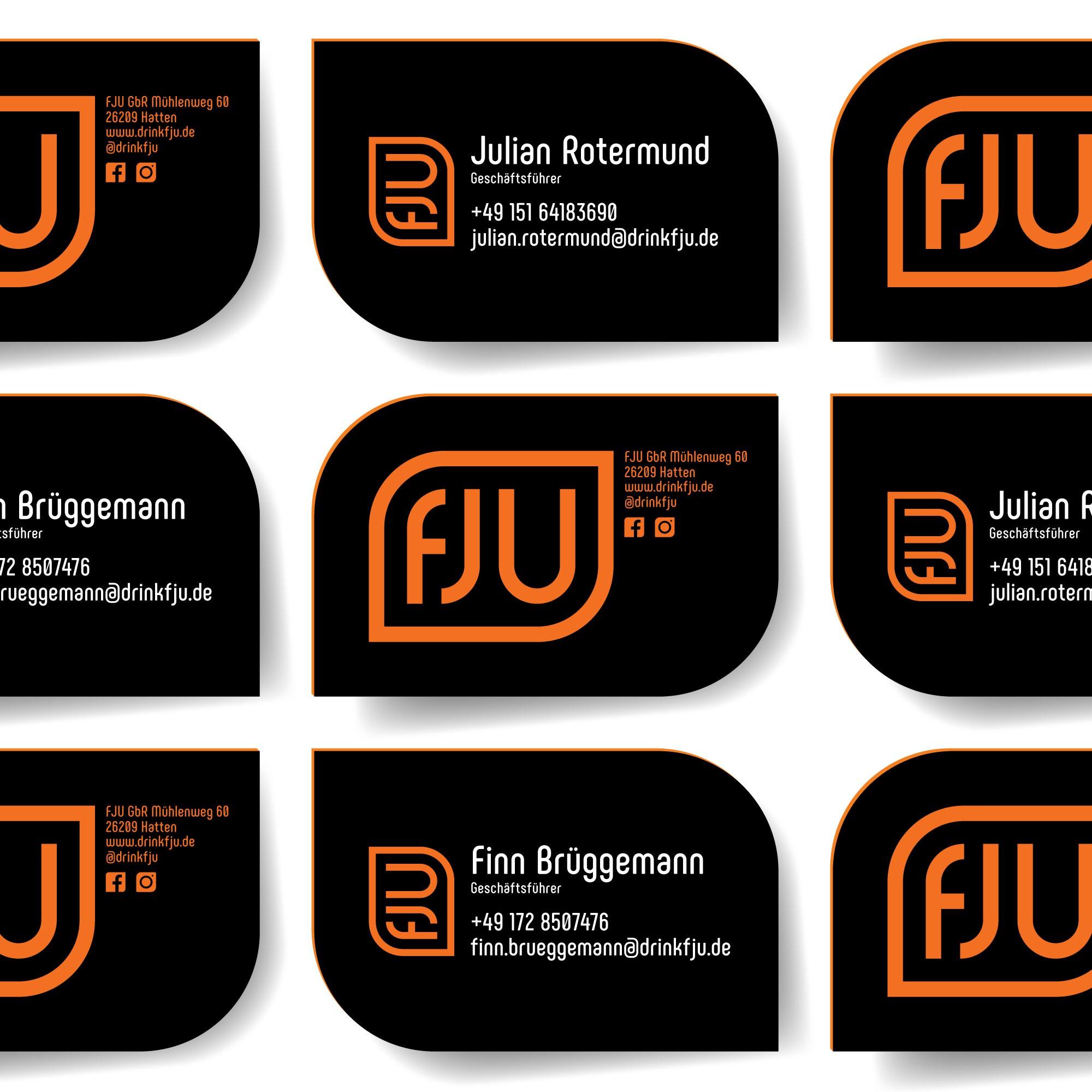 FJU Business cards