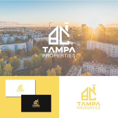 Hip and Cool logo for a apartment management company