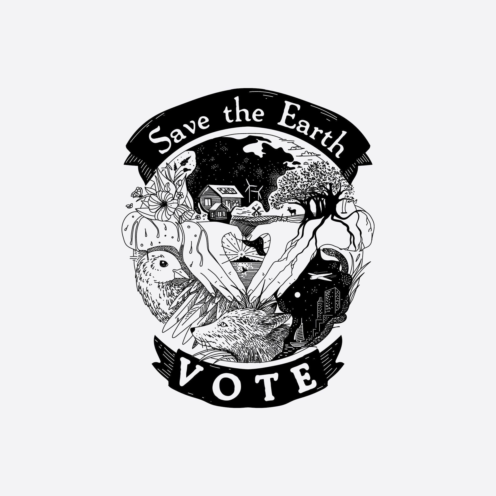 Save the Earth - VOTE