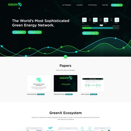 Clean Design Concept For GreenX