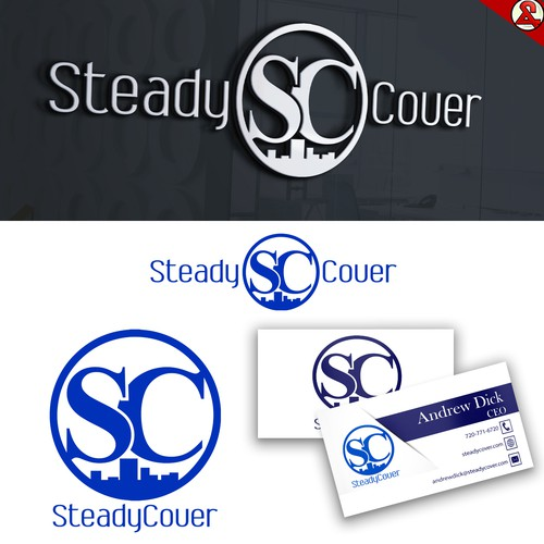 Professional Logo Concept for SteadyCover