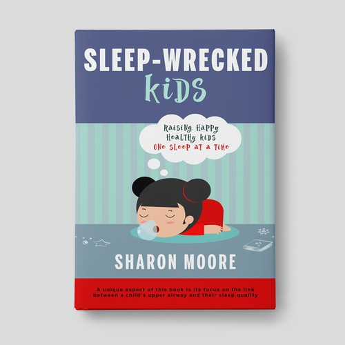 Book cover design: Parents Guide on Sleep for Children