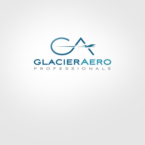 JET AVIATION logo for Glacier Aero.