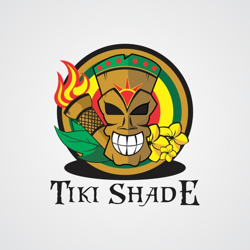Create a Classy Beachy Logo for new Beach Umbrella Tiki Shade